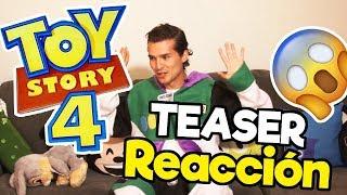 TOY STORY 4 REACCIÓN Teaser Trailer / Memo Aponte