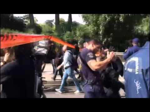 Πορεία διαμαρτυρίας παραπληγικών προς το Μέγαρο Μαξίμου