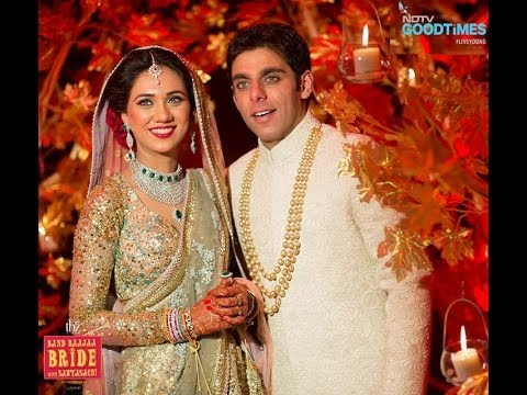 Arjita Anshul wedding @ Band Baaja Bride NDTV Goodtimes - sabyasachi