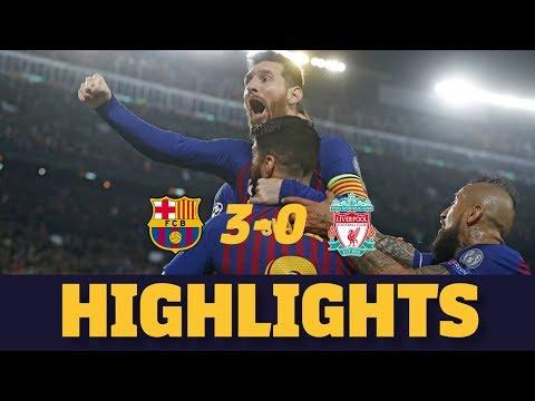 BARÇA 3-0 LIVERPOOL   Match highlights