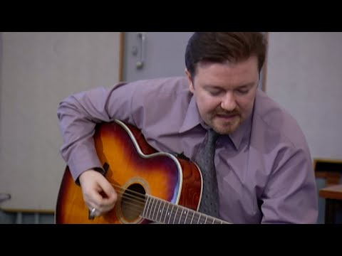 David Brent On Guitar - Free Love Freeway | The Office | BBC Comedy Greats