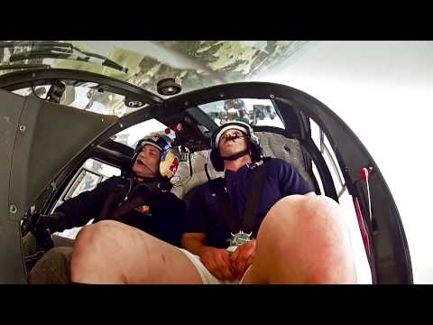 George North Takes To The Skies With Red Bull