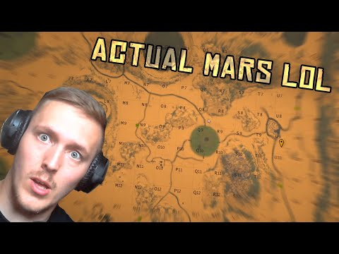 Rust but its on mars (they added a new planet lol)