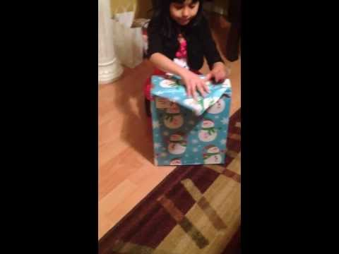 gift reaction funny - Her reaction to her present.
