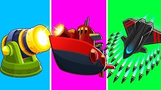 Bloons TD 6 - 4-Player Missile Challenge | JeromeASF