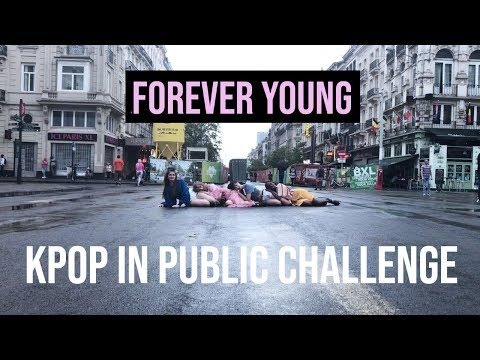 [KPOP IN PUBLIC CHALLENGE  BRUSSELS] BLACKPINK - 'Forever Young' Dance Cover by Move Nation 2018