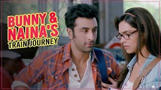 Video Bunny & Naina's Train Journey | Yeh Jawaani Hai Deewani | Ranbir Kapoor | Deepika Padukone MP3, 3GP, MP4, WEBM, AVI, FLV Desember 2018