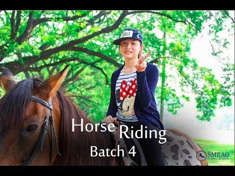 [Learning English] English Academy in Cebu, Philippines: Horseback Riding Batch 4