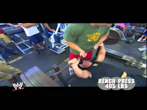 weight training - john cena weight training.FLV.