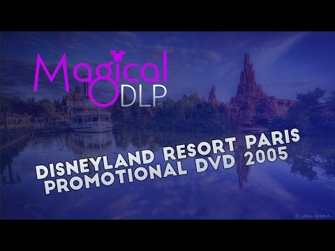 Disneyland Resort Paris Promotional  DVD 2005