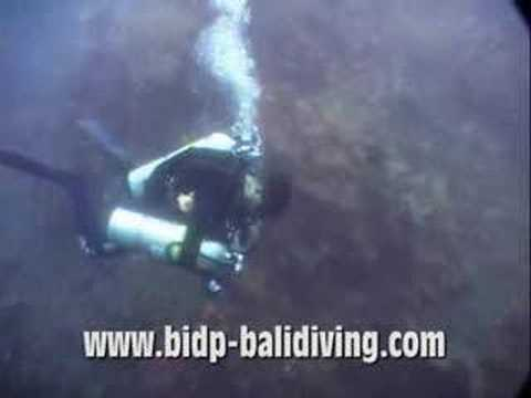 Buceo técnico en Bali