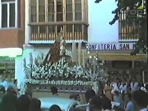 Año 1983, Salida Virgen del Rocío desde San Nicolás