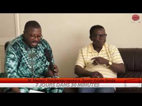 TÉLÉ 24 LIVE: udps canada – M Medard Batubenga repond à Syvain Kalala Senda