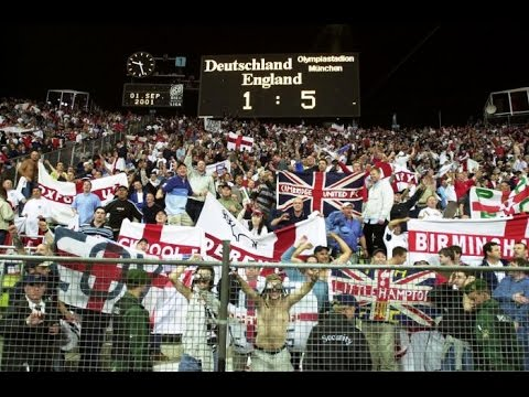 Football Hooligans - Germany v England - 2001