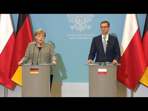 Merkel plädiert für Austrittsabkommen zum Brexit