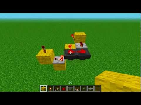 Minecraft Pistonless Hopper T-Flip Flop (Fast And Silent)