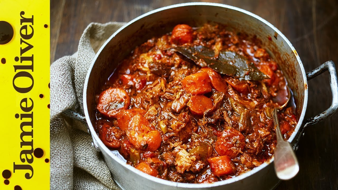 Jamie's Easy Slowcooked Beef Stew