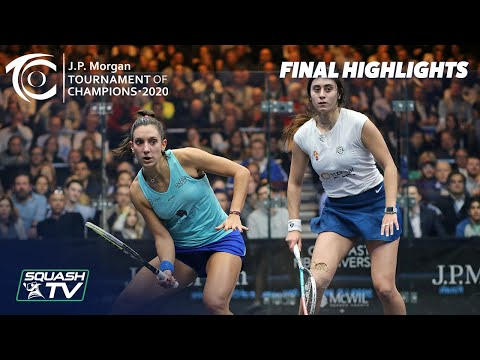 Squash: J.P. Morgan Tournament of Champions 2020 - Women's Final - Serme v El Sherbini