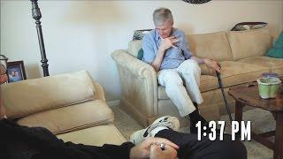 Chory na Parkinsona przyjmuje jedną kroplę oleju z Marihuany! Zobacz efekt!