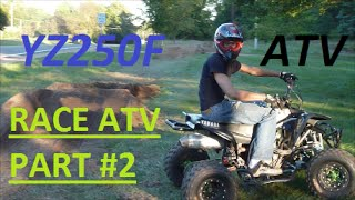 6. Yamaha Blaster All Terrain Vehicle With 2006 Yamaha YZ250F MOTOR FASTTT$$$  part #2