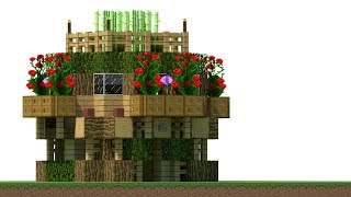 Minecraft: How To Build A Small Survival Starter House Tutorial