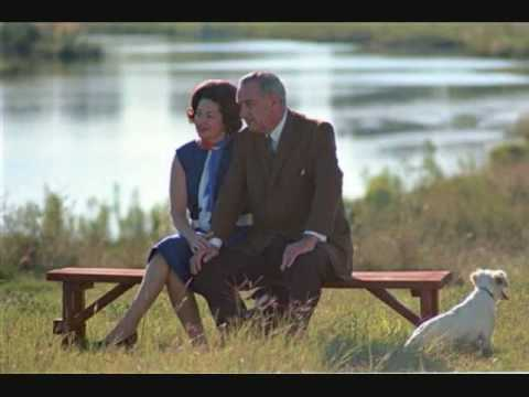 Chat (bird) - Lady Bird Johnson& LBJ March 23, 1964 (WH 6403_15_12_19) White House Telephone President Lyndon Johnson calls his wife Lady Bird Johnson to tell her he's goi...