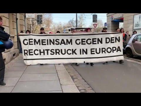Αντιφασιστικές διαδηλώσεις στη Γερμανία