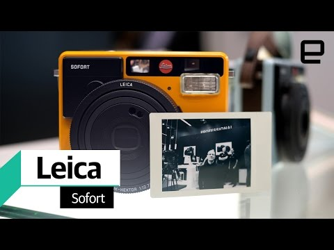Leica Sofort instant camera: Hands On