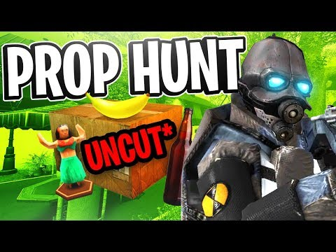 Garry's Mod Prop Hunt w/ Friendos #5 - Can't Pick Up Anything