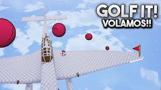 VOLAMOS EN UN AVIÓN EN GOLF IT!! MADRE MÍA!