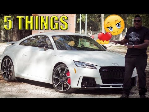 5 Things I Love About My 2018 Audi TT RS