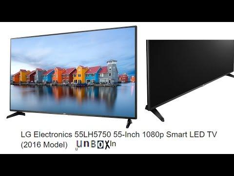 LG Electronics 55LH5750 55 Inch 1080p Smart LED TV 2016 Model UNBOXING