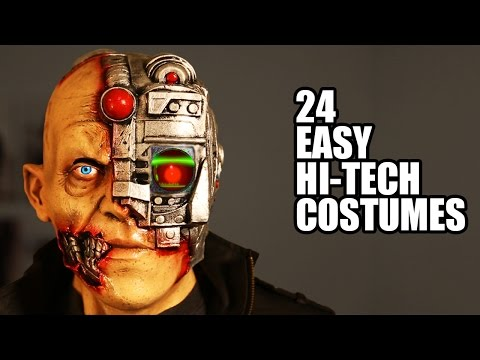 24 Hi-Tech Halloween Kostüme 2015