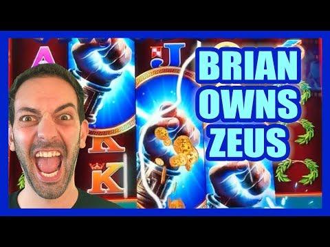 Brian OWNS Zeus + Kronos (Again!)  Brian Christopher Slots