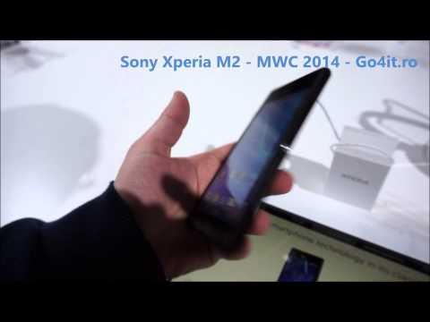 Sony Xperia M2 la MWC 2014