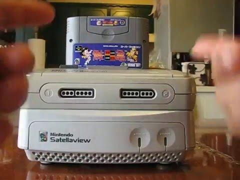 Nintendo Satellaview repaso