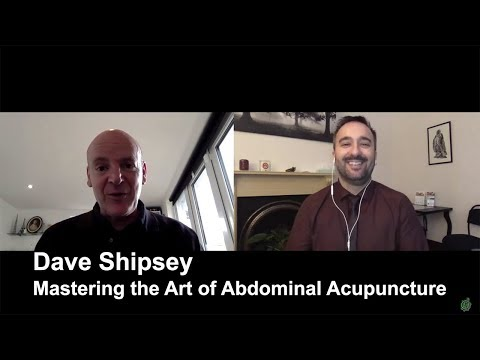 Dave Shipsey on Abdominal Acupuncture - Special Vlog #19