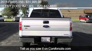 2013 Ford F-150 XLT 4WD for sale in Arkansas City, KS 67005