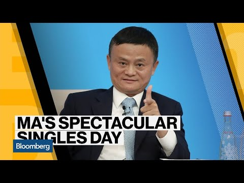 Alibaba's Jack Ma Sees Singles' Day Record on Way to Retirement