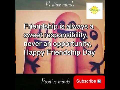 Quotes on friendship - Friendship Day Whatsapp Status  Latest Status Video
