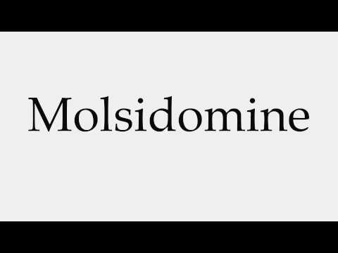 How to Pronounce Molsidomine