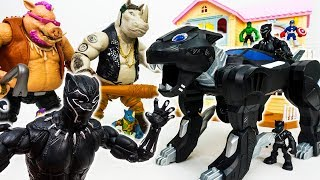 Video You Are Not Invited To The Avengers Party~! Gp Black Panther Jet Vehicle - ToyMart TV MP3, 3GP, MP4, WEBM, AVI, FLV Juli 2018