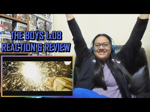 """The Boys 1x08 REACTION & REVIEW """"You Found Me"""" S01E08 