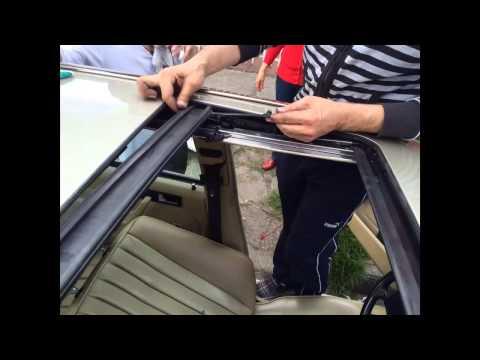 Reparación Sunroof (quemacocos) Mercedes Benz W124 W126 W201