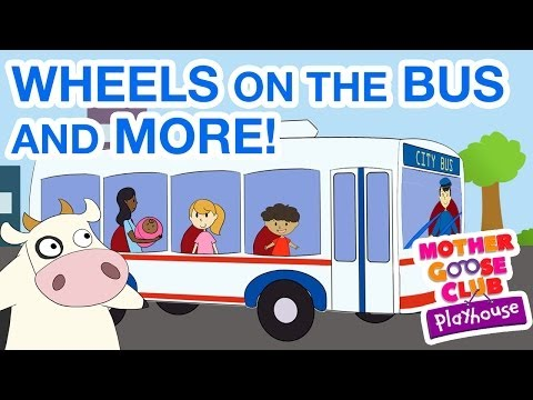 Big Wheel vs Bus - Wheels on the Bus and More! Sing along with the Mother Goose Club as we sing, dance and play to your favorite Nursery Rhymes! Watch hits like The Wheels on t...