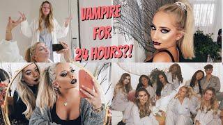 Video BEING A VAMPIRE FOR 24 HOURS! Easy Halloween GRWM ad MP3, 3GP, MP4, WEBM, AVI, FLV Oktober 2018