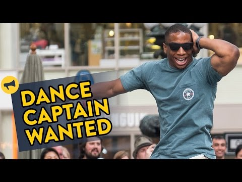 Improv Everywhere Dance Captain Wanted