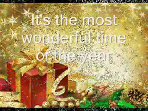 Video It's The Most Wonderful Time Of The Year Song  - Lyrics And Slide Show download in MP3, 3GP, MP4, WEBM, AVI, FLV January 2017