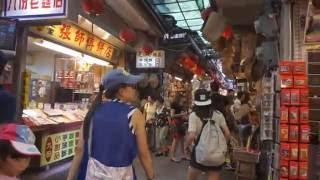 [Walking tour 漫步遊] Chiufen Old Street Taiwan 台灣 九份山城老街