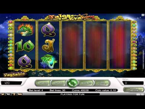 Tales Of Krakow ™ free slots machine game preview by Slotozilla.com